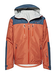 Kirkestinden 2,5-layer technical shell jacket - CHILLI