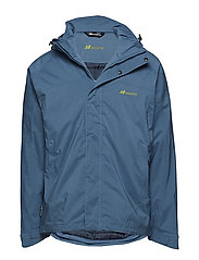 Randers  2-layer technical jacket - REAL TEAL