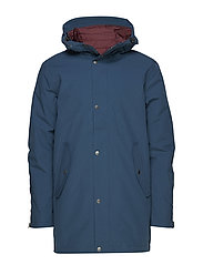 Fyrde 2-layer technical parka - BLUE TEAL