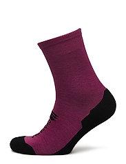 Nordfjord wool socks - MAGENTA