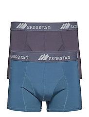 Fossefjell 2pk  boxer - STEELREALTEAL