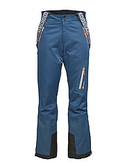Holen 2-layer technical ski trousers - BLUE TEAL