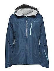 Hornstinden 2,5-layer technical shell jacket - BLUE TEAL