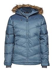 Hunskor down jacket - REAL TEAL