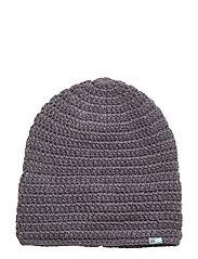Fossvega crocheted hat - STEEL