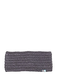 Gytri crocheted headband - STEEL