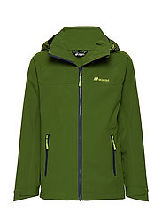 Ballstad  2-Layer Technical Jacket - GARDEN GREEN