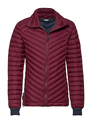 Hauknes  Light Down Jacket - CRUSHED VIOLET