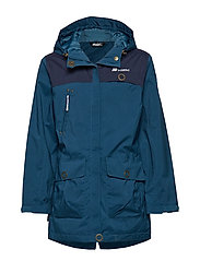 Rindal 2-Layer Technical Parka - BLUE TEAL