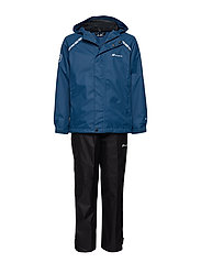 Risøy 2-Layer Technical Rainwear Set - BLUE TEAL
