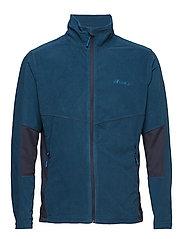 Årdalsvatnet Microfleece Jacket - BLUE TEAL
