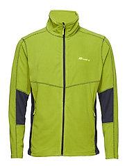 Årdalsvatnet Microfleece Jacket - PERIDOT
