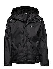 Føyno  2-Layer Technical Rainwear Jacket - BLACK