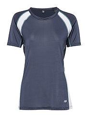 Avaldsnes Techincal T-Shirt - ANTRACITT