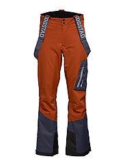 Holen 2-Layer Technical ski trousers - TERRACOTTA