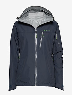 Børgefjell  2,5-Layer Technical Shell Jacket - outdoor- & regenjacken - antracitt