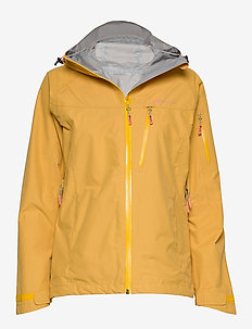 Børgefjell  2,5-Layer Technical Shell Jacket - outdoor & rain jackets - bright gold