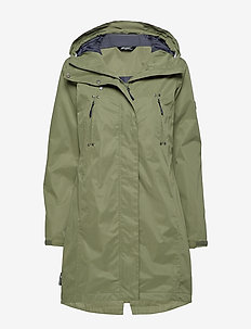 Myseterelva  2-layer Technical Coat - regenbekleidung - four leaf