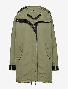 Øydjorda  Casual Coat - parkas - four leaf