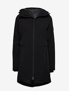 Holmevik PrimaLoft long jacket - jakker og regnjakker - black