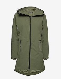 Holmevik PrimaLoft long jacket - kurtki turystyczne - four leaf