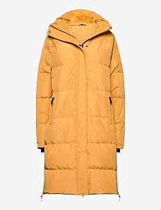Haugland down coat - dunjakker - bright gold