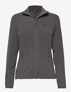 Røda fleece jacket - mid layer jackets - dark grey