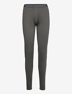 Jardalen merino wool longs - base layer bottoms - dark grey