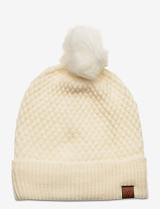 Dyrdal knitted hat - bonnets - vanilla ice