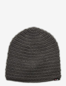 Fossvega crochet hat - mössor - dark grey