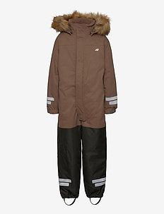 Sletteheida 2-layer technical snowsuit with PrimaLoft - snowsuit - brown