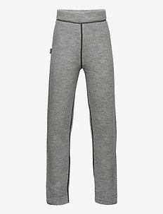 Sula wool trousers - ull-klær - casio grey