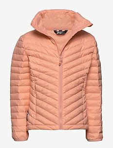 Hauknes  Light Down Jacket - daunen- und steppjacken - peach nectar