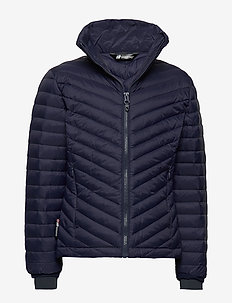 Hauknes  Light Down Jacket - puffer & padded - prime navy