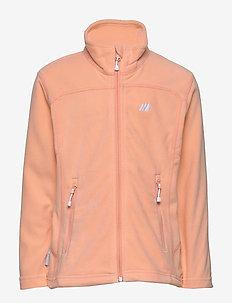 Tresfjord  Microfleece Jacket - fleece-kleidung - peach nectar