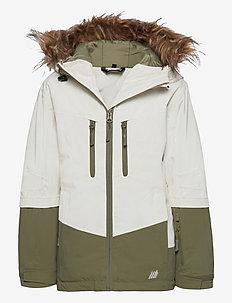 Bakketuva 2-layer technical jacket - vinterjakker - vanilla ice