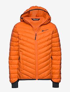 Hurum  Light Down Jacket - puffer & padded - blacing orange