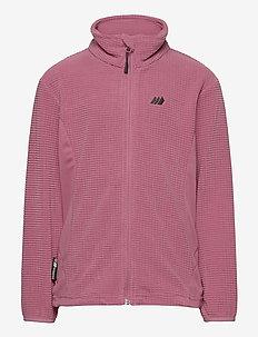 Stien fleece jacket - sweatshirts - heather rose
