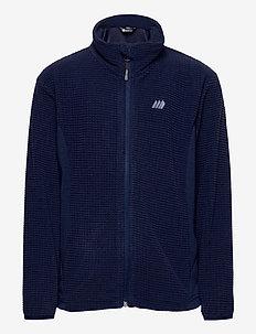 Stien fleece jacket - sweatshirts - prime navy