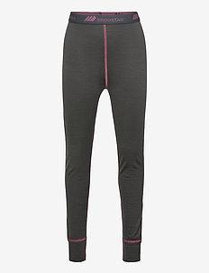 Videseter Merino wool longs - underdele - dark grey