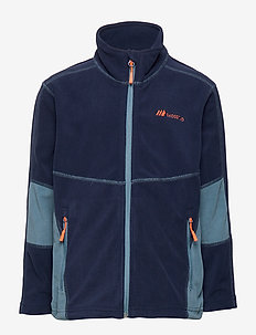 Troms  Microfleece Jacket - fleece-kleidung - prime navy
