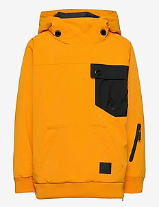 Geilo 2-layer technical anorak - vindjakke - saffron