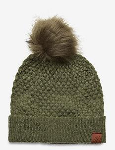 Kongsberg knitted hat - hatter - four leaf