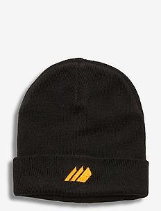 Andebu knitted hat - huer - black