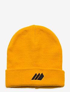 Andebu knitted hat - huer - saffron