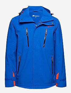 Smilværet   2-layer Technical Jacket - outdoor & rain jackets - p. blue