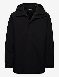 Olden PrimaLoft long jacket - ulkoilu- & sadetakit - black