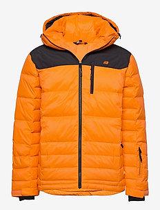 Selvågen down jacket - outdoor- & regenjacken - jaffa orange