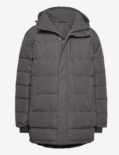 Nydalen long down jacket - trainingsjacken - new antracite