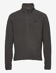 Åelva fleece jacket - basic-sweatshirts - dark grey